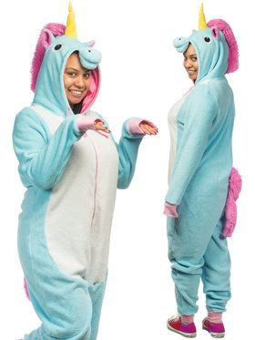 Unisex Unicorn Adult Onesie