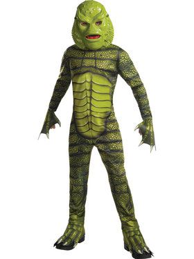 Universal Monsters: Creature from the Black Lagoon Costume for Boys