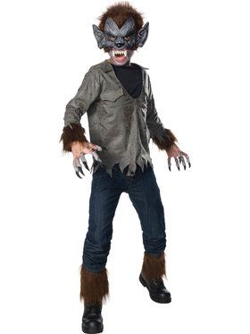 Universal Monsters: Wolfman Costume for Boys