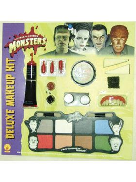 Universal Studios Monsters Deluxe Makeup Kit