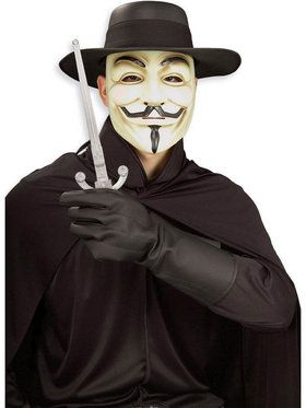 V Vendetta Costume Kit