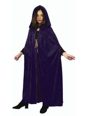 Vampire Cloak-Velvet Child Costume