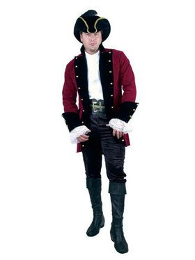 Velvet Pirate Prince Jacket - Plus - Wine