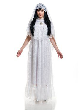 Vintage Bride Adult Costume