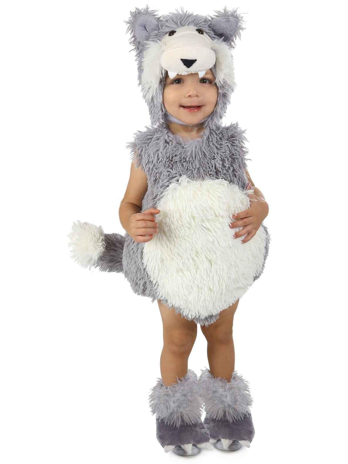 vintage big bad wolf infant/toddler costume - baby halloween