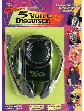 Voice Disguiser With Head Set