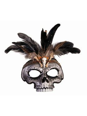 Voodoo Skull Mask - Male