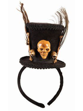 Voodoo Top Hat Headband
