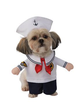 Walking Sailor Costume for Pet