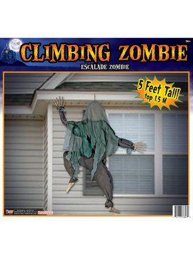 Wall Climbing Zombie Decoration