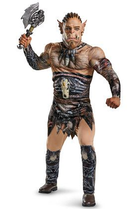 Warcraft Adult Durotan Deluxe Muscle Co