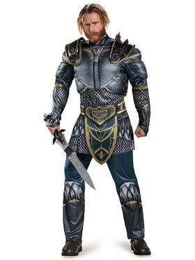Warcraft Adult Lothar Classic Muscle Cos