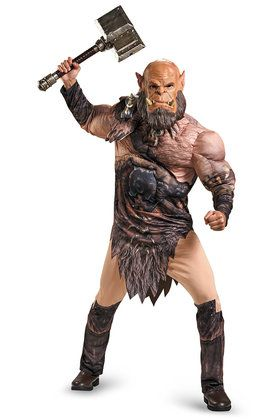 Warcraft Adult Ogrim Deluxe Muscle Cost