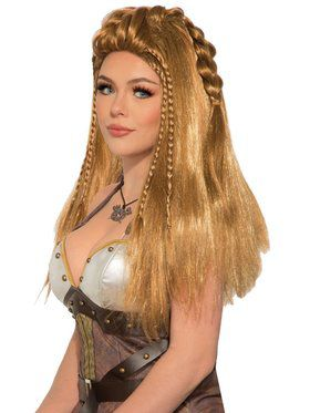 Warrior Wig - Female - Brown