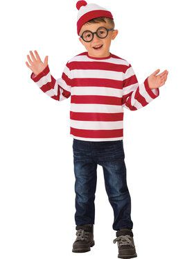 Child Where's Waldo Costume