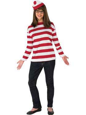 Where's Waldo Wenda Curvy Costume