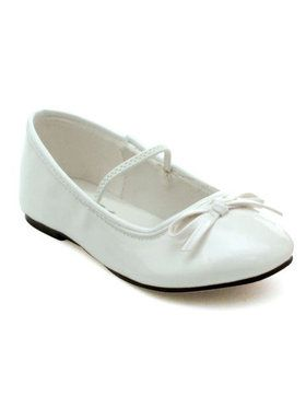 White Ballet Slipper Child
