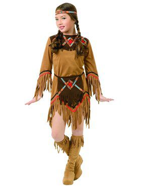 White Dove Native American Girl's Costume