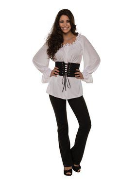 White Renaissance Long Sleeve Adult Costume