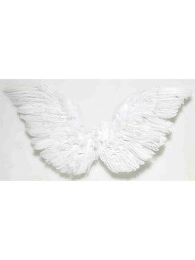 White Small Angel Wings 18 X 18