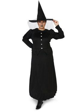 Wicked Witch Plus Adult Costume