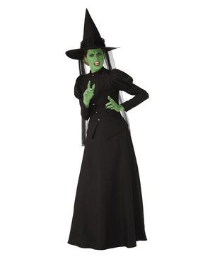 Super Deluxe Wicked Witch Womens Costume