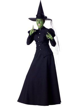 Adult's Wicked Witch Elite Costume