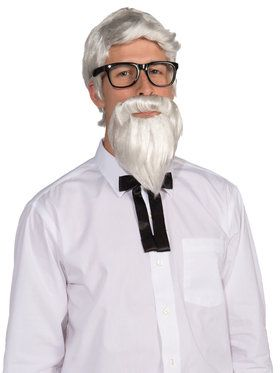 Wig & Beard Southern Colonel