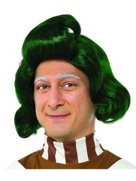 Willy Wonka the Chocolate Factory: Oompa Loompa Adult Wig