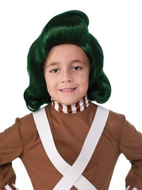 Willy Wonka the Chocolate Factory: Oompa Loompa Child Wig