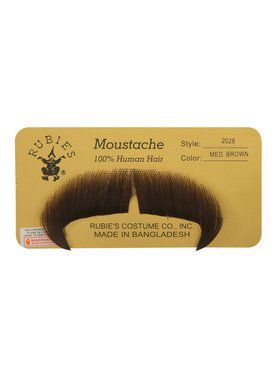 Winchester Moustache - Medium Brown
