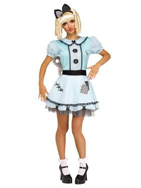 Wind-Up Doll Women's Costume