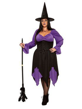 Witch - Plus Adult Costume