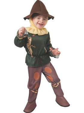 Classic Toddler Wizard of Oz Scarecrow Costume