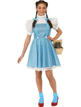 Wizard Of Oz (tm) Dorothy Adult  sc 1 st  BuyCostumes.com : halloween costumes wizard of oz  - Germanpascual.Com