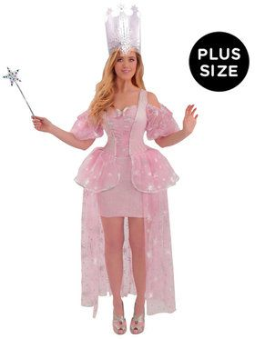Wizard of Oz Glinda Adult Plus Costume Plus (16-24)