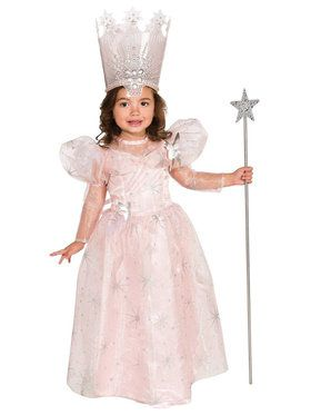 Wizard Of Oz-Glinda The Good Witch Deluxe Toddler Costume