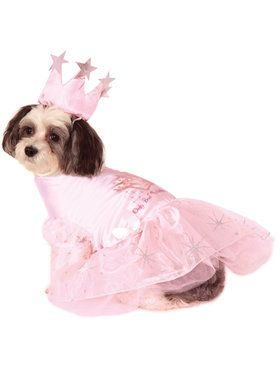 Pet Glinda the Good Witch Costume