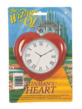 Wizard Of Oz Tinmans Heart Clock
