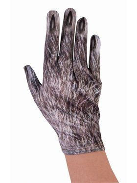 Wolf Gloves - Adult