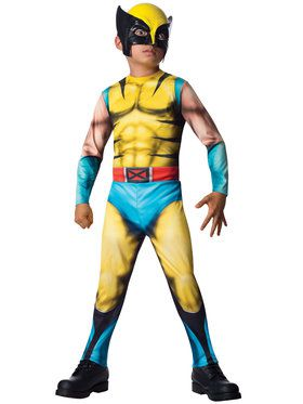 Wolverine Child Costume