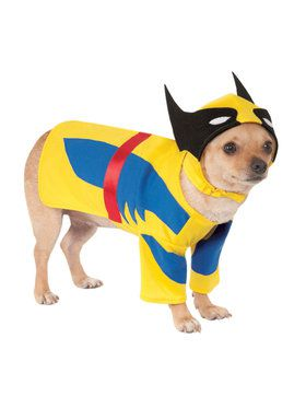 Wolverine Costume For Pets