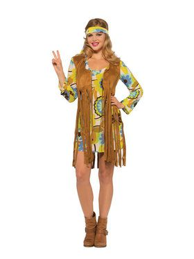 Womens 1960s Groovy Lady Costume