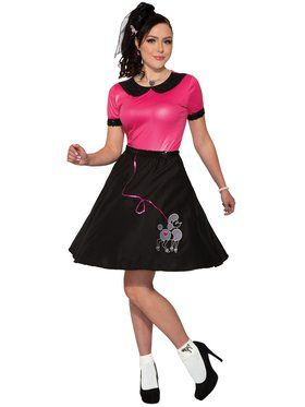 Womens 50's Girl Costume