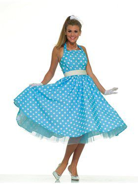 50s Prom Dress Costume for Adults