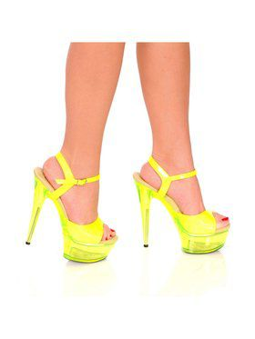 "Women's 6"" Platform With Neon Up Reactive Upper And Bottom"