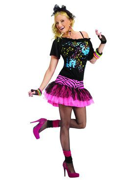 Womens 80s Pop Party Costume