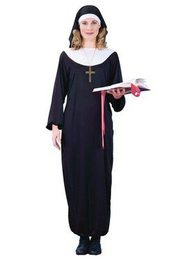 Womens Adult Nun Costume