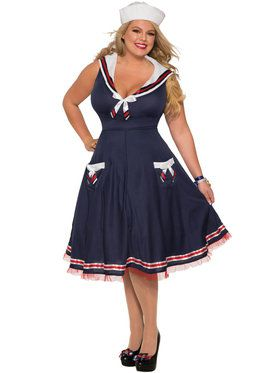 Lady Ahoy Costume for Women
