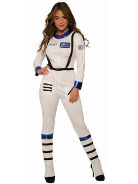 Astronaut Womens Costume